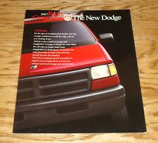 Original 1997 Dodge Ram Cargo Van Foldout Sales Brochure 97 1500 2500 3500