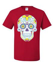 Sugar Skull Day of the Dead T-Shirt Calavera Dia de los Muertos Tee