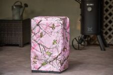 masterbuilt 30-inch electric smoker cover in true timber pink camo.