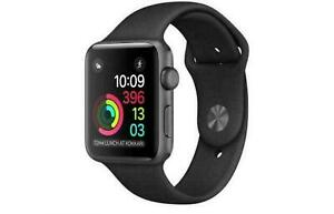 Apple Watch Series 1 42mm Aluminum  Space Gray FACTORY SEALED!