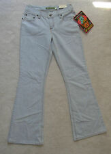 Womens Mudd Blue Stretch Denim Jeans Low Hip Hugger Bell Bottom 3 1 0 Leg31
