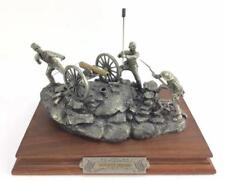 """Pewter Sculpture: Civil War Barnum """"Pickett's Charge"""" Limited Ed. 71/2500"""