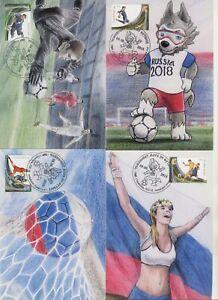 2018 , Transnistria , World Football Cup Russia'2018 , FIFA , maxicards