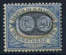 San Marino 1931 Sass. 35 MNH 100% Postage Due