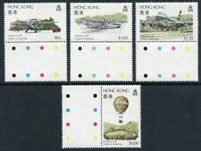 Hong Kong: 1984 Aviation in Hong Kong (423-426) MNH