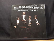J. Brahms - Sämtliche Streichquartette / Alban Berg Quartett   2 LP-Box
