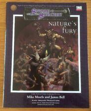 Dungeons & Dragons Sword & Sorcery Nature's Fury D20 Sistema Aventura