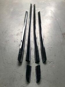 Mitsubishi Verada Outer Door Moulds (KL Verada Style) SABLE BLACK - USED