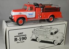 "First Gear 19-1304 International R-190 ""Mobil Oil"" Fire Truck 8"" Long Mint W/Box"