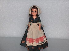 VINTAGE RELIABLE MONTREAL FOLK DOLL IN TRADITIONAL COSTUME, MADE IN CANADA