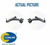 2 x NEW COMLINE FRONT LOWER TRACK CONTROL ARM WISHBONE PAIR OE QUALITY CCA1083