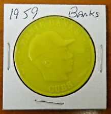 Very Rare Scarce 1959 Armour Coin Ernie Banks Yellow Maybe Only One Known?