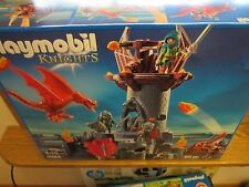Playmobil Castle 5984 Dragon knights tower NEW Box 85 p. catapult great toy fun