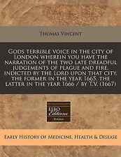 Gods terrible voice in the city of London wherein you have the narration of the