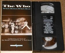 The Who - Who'S Better, Who'S Best - Vhs