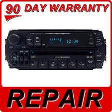REPAIR 02 03 04 05 DODGE JEEP CHRYSLER Dakota Durango Radio 6 Disc CD Changer