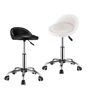 Rolling Wheel Salon Stool Spa Massage Manicure Beauty Tattoo Facial Stool Chair