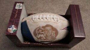 New England Patriots Collectible Football Drew Bledsoe Full Size Fotoball
