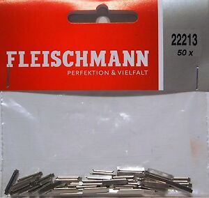 Fleischmann 22213 - 50 x Rail Joiners (fishplates) for N Gauge - 2nd Post ONLY