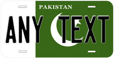 Pakistan Flag Any Text Personalized Novelty Car License Plate