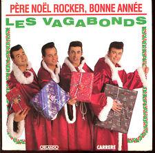 LES VAGABONDS - PERE NOEL ROCKER, BONNE ANNEE - CD MAXI CARDSLEEVE