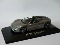 lizensiert Modellauto Porsche 918 Hypercar Sportwagen Auto Maßstab 1:34-39