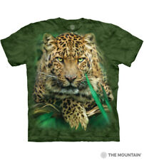 The Mountain 100% Cotton Unisex Adult T-Shirt - Majestic Leopard (Medium) NWT