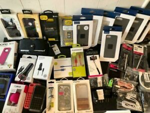 Bulk Wholesale Lot of 1000 Mixed Cell Phone Accessories for iPhone & Galaxy etc