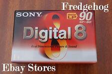 SONY DIGITAL 8 VIDEO CAMCORDER TAPE / Kassette. N8-60P2 AUCH KOMPATIBEL MIT Hi8