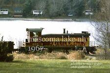 "Boston & Maine RR  803  Mascoma Curve NH 1967 4x6"" photo d"