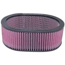 """290mm x 220mm Oval Reusable Cotton Filter Element 4"""" 18-203"""