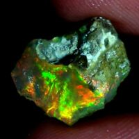 ETHIOPIAN FIRE OPAL ROUGH 100% Natural Multi Fire Opal Raw Rough Specimen JGems
