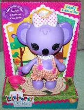 "Lalaloopsy Pet Pals LEAFY CUDDLE N' SHY Koala Bear 7""H New"