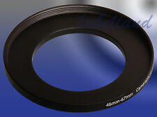 46-67mm L-V Filtro Anello Adattatore converte 46mm LENS thread a 67mm 46-67 SURVOLTORE