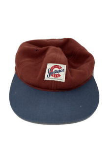 Columbia Outdoor Sportswear Company Hiking Fishing SnapBack Hat Red Fleece