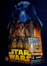 Star Wars: Revenge of the Sith WOOKIE WARRIOR Action Figure #43 Hasbro ROTS 2005