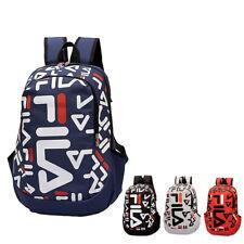 NEW FILA Outdoor Travel Gear Backpack Laptop Hiking Nylon Rucksack School Bag