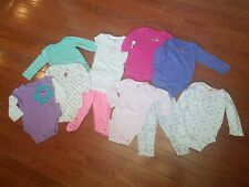 Baby Girl Clothes 9 Months Lot of 10 Pieces Lot #16