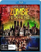 Zombie Flesh Eaters (Blu-ray) Lucid Fulci's [Region B] NEW/SEALED