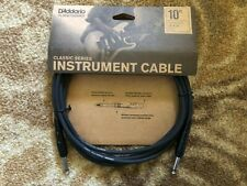 D' addario Planet Waves 10' Classic Series Instrument Cable Straight-Straight