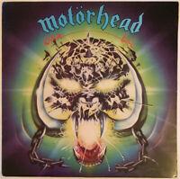 MOTÖRHEAD OVERKILL LP BRONZE UK 1979 2U/1U MATRIX NEAR MINT PRO CLEANED