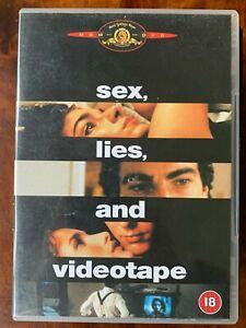 Sex Lies Videotape DVD 1989 Erotic Movie Drama Classic w/ James Spader