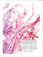 FINAL FANTASY BRAVE EXVIUS The Art Works Limited Book Yoshitaka Amano