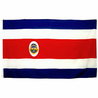 Fahne Costa Rica Querformat 90 x 150 cm Hiss Flagge Nationalflagge