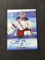 2015-16 SP AUTHENTIC MARTIN BIRON SIGN OF THE TIMES AUTOGRAPH AUTO #SOTT-MB