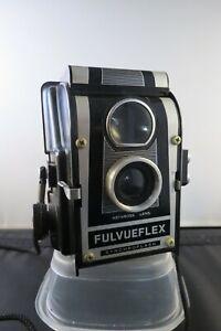 Vintage ROSS ENSIGN FULVUEFLEX TLR 120mm Film Box Camera + box & instructions
