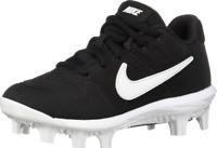 Nike Alpha Huarache Varsity Black Baseball Cleats Boys (Size Varies) AO7583-001