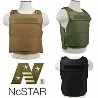 NcSTAR Lightweight Discreet Armor Plate Carrier Tactical SWAT Police Vest