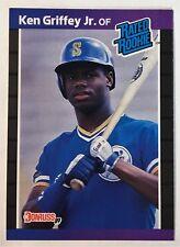 1989 Donruss #33 Ken Griffey Jr. Rookie Card - Seattle Mariners