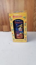 Pinochio 1994 Burger King Collector Series Disney Plastic Cup New In Box